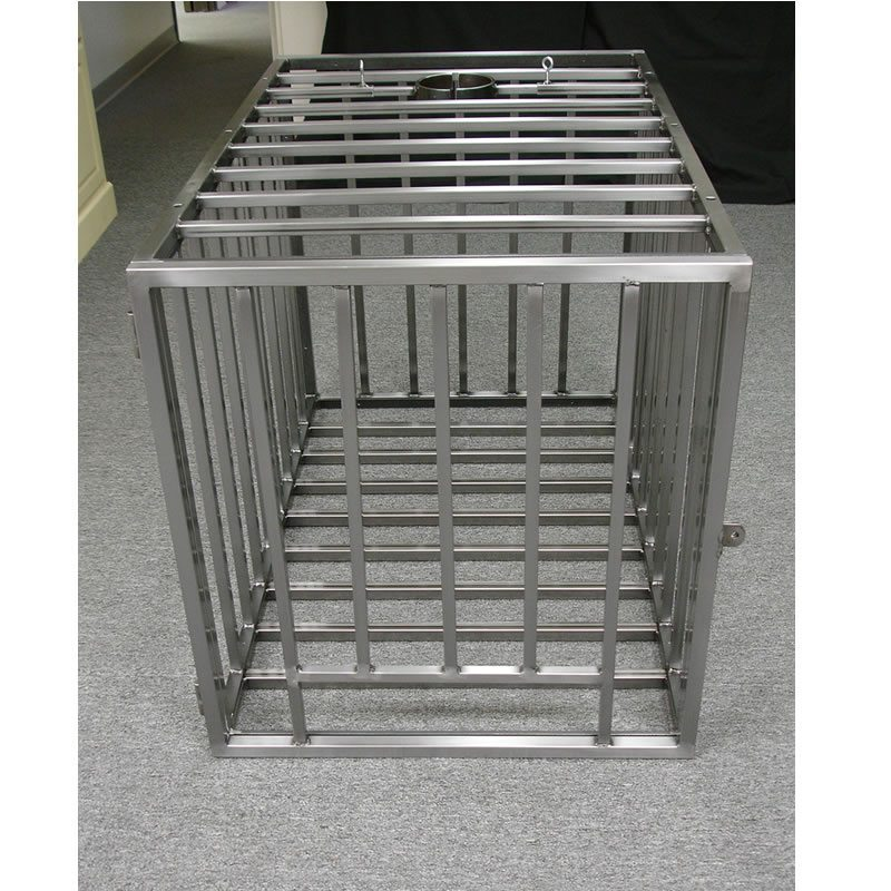 Steel Puppy/Slave Cage 1