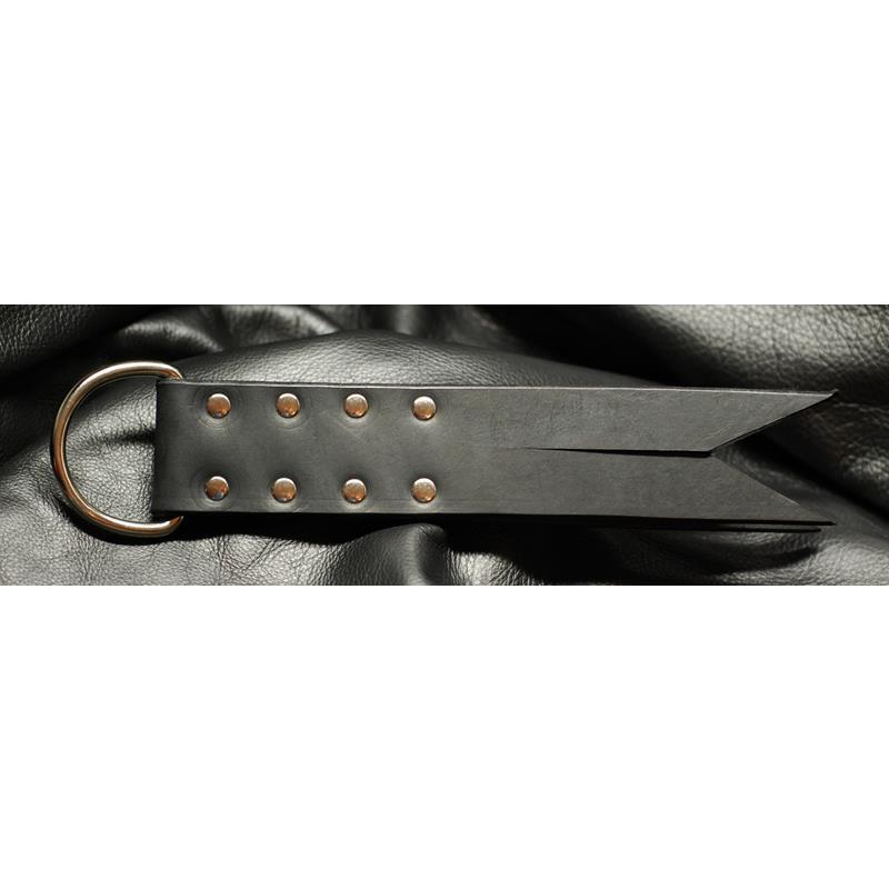 Folded Leather Paddle