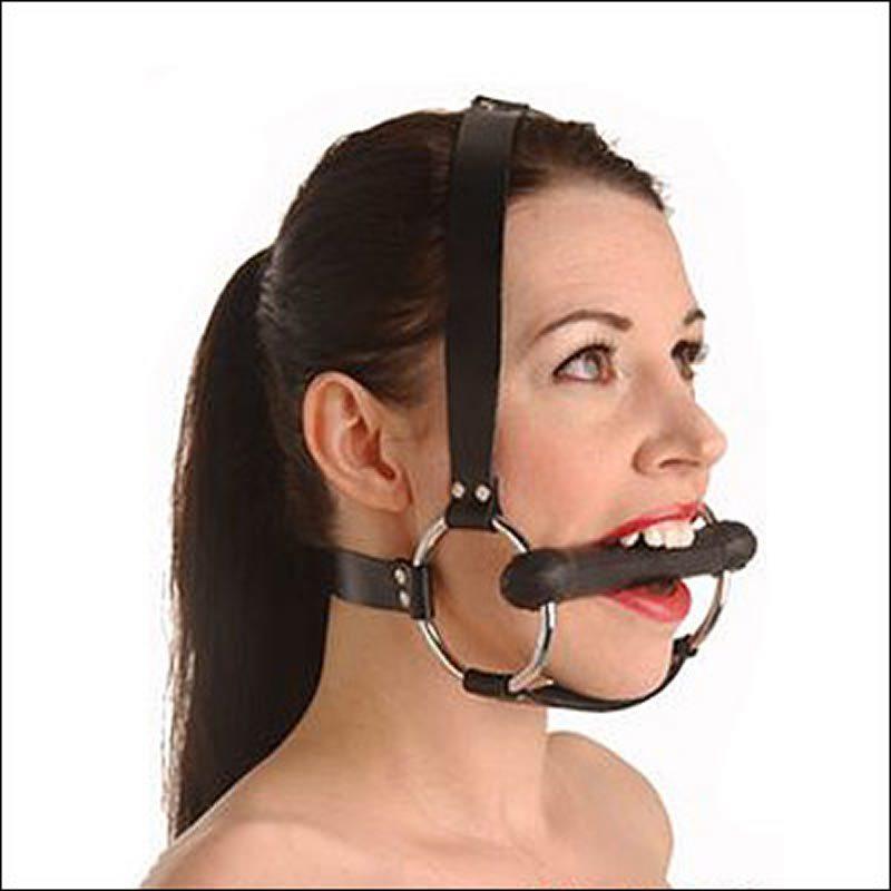 Locking Silicone Trainer Gag